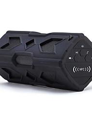 pt390 extérieur stéréo sans fil bluetooth mini-subwoofer portable nfc trois anti imperméable à l'eau