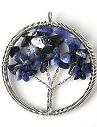 Кулоны Камень Circle Shape как изображение 1Pc
