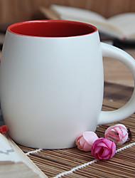 1pc copo de café 500ml copo de cerâmica autêntica copo creativo marca de chá de vidro cor aleatória
