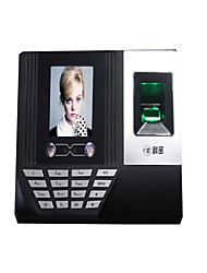 Face + + Fingerprint Attendance Machine Fingerprint Password Face All-In-One Voice Prompt Punch Machine