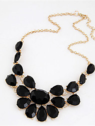 Women's Choker Necklaces Pendant Necklaces Jewelry Resin Alloy Fashion European Statement Jewelry Jewelry For Wedding Party Daily
