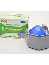 silicone masques anti-poussières activées poussière de carbone industrie masque de soudage PM2,5 masques de protection respiratoire
