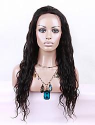 evawigs instock peruca dianteira cor brasileiro onda de água cabelo virgem peruca peruca 1b glueless rendas 8-26 polegadas para as