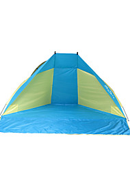 Laputa  Ultraviolet Resistant / Quick Dry / Rain-Proof / Well-ventilated Polyester One Room Shelter & Tarp Blue