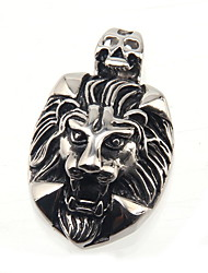316L Stainless Steel Pendant Gold Wine