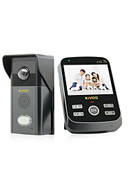 KiVOS Household Electronic Doorbell Wireless Long Distance Calls Waterproof Camera KDB303(The Random with Delivery)