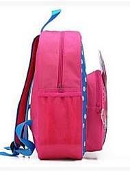 Unisex Nylon Sports / Outdoor Backpack Pink / Blue