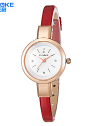 Women's Diamond Oval Dial Flowers Strap Japanese Quartz Fashion Watch (Assorted Colors)