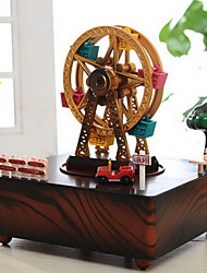 Ferris Wheel House Music Box