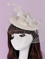 Flower Lace Grenadine Top Hat