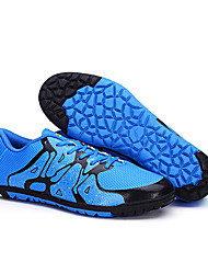 ailema Men's Football Sneakers Spring Cushioning / Wearproof / Breathable Shoes Green / Black / Blue / Orange 31-44
