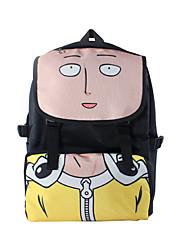 Bolsa Inspirado por Um Homem perfurador Fantasias Anime Acessórios de Cosplay Bolsa / mochila Preto Náilon Masculino / Feminino
