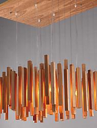 MAX 40W Lampe suspendue ,  Contemporain / Rustique Peintures Fonctionnalité for Style mini Bois/BambouSalle de séjour / Chambre à coucher