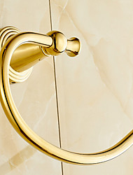 Towel Ring / Polished Brass / Wall Mounted /20*20*5 /Brass /Antique /20 20 0.5