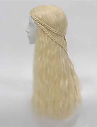cheveux synthétiques cosplay film chaud même style perruque ondes longues perruques de cheveux classique