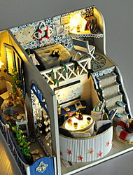 bricolaje casa del mar Breeze Villa manual de modelo de la casa