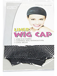 Neitsi 2pcs Black Wig Caps Net Wig Accessories Special Wig Net Anti Slip Fixed Hair for Wig