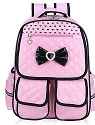 Women PU Formal Backpack Pink / Blue / Black / Fuchsia