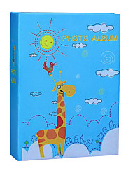 6 inch 100 pcs fawn pattern photo album