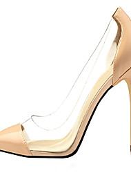 Zapatos de mujer - Tacón Stiletto - Tacones / Puntiagudos - Tacones - Vestido / Casual / Fiesta y Noche - Semicuero - Negro / Azul / Rojo