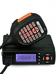 LUITON® LT-725UV Dual Band High-Middle-Low Power Output with Free Programming Cable and Fan Backside FM Mobile Radio