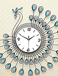 Peacock Diamond Wall Clock