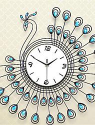 Redonda Moderno/Contemporâneo Relógio de parede,Outros Metal 70*70*7