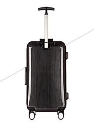 Unisexe PVC Extérieur Bagages Or / Rouge / Noir
