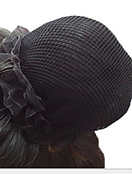 Girls Hair Accessories,All Seasons Chiffon Black