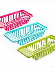 Plastic Dish Rack Kitchen Organization(Random Color)