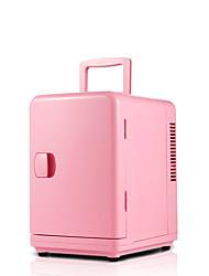 6l mini carro frigorífico casa de dupla utilização rosa