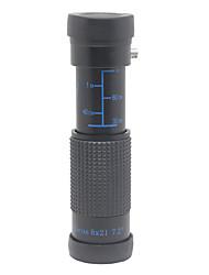8x Water Resistant FMC Green Film + Blue Film Portable Pocket Monocular Telescope
