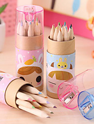 Japan And South Korea Stationery Cute Girl 12 Constellation Small Colored Pencil Drawing Pen Color Pencil