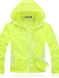 Outdoor Unisex Tops Camping & Hiking  Fitness  Cycling/BikeBreathable  Ultraviolet Resistant  Quick Dry