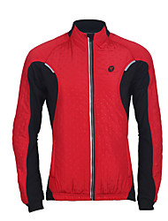 TASDAN® Cycling Jacket Women's Long SleeveBreathable / Thermal / Warm / Windproof / Moisture Permeability / Waterproof Zipper /