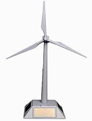 Solar windmill model environmental science experiments toy Decoration
