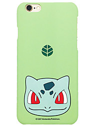 Pocket Little Monster Bulbasaur 4.7 inch Iphone 6/6S Hard Matting Cellphone Cover