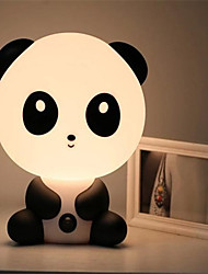 Pretty Cute Panda Bear Cartoon Animal Night Light Baby Room Sleeping Light Bedroom Desk Lamp Night Lamp Best for Gifts