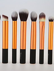 8pcs Makeup Brushes set Gold Blush brush Eyeshadow Brush Lip Brush Makeup Kit Cosmetic Brushes