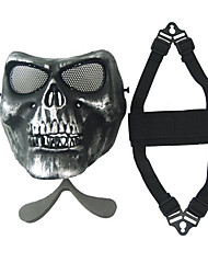 U.S. M02 silver CS field skull mask zombie 2 generation face protective mask of fear