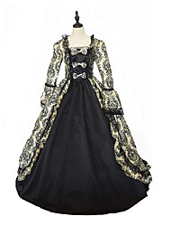 Steampunk®Georgian Gothic Prom Dress Civil War Southern Belle Ball Gown Princess Belle Gown