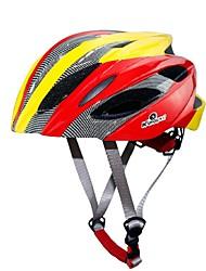 Helm(Gelb / Rot / Schwarz / Blau,PC / EPS) -Berg / Strasse / Sport- für Damen / Herrn / Unisex 18 ÖffnungenRadsport / Bergradfahren /