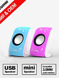 Besteye® FX-128 A Pair USB2.0 Speaker 3D Stereo Surround Sound Mobile Notebook PC USB Sound Speakers