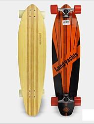 Longboards скейтборд унисекса 24.1x96.5 7 углерода предел стали металла крем движение Danny способ рекомендуется лучшее качество