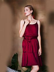 Pour My Fair Lady® Femme Licou Sans Manches Au dessus des genoux Robes-1402004