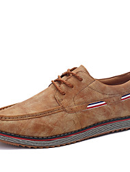 Men's Shoes Office & Career / Party & Evening Flats Wedding / Office & Career / Party & Evening Walking Flat Heel