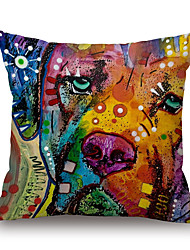 Cotton/Linen Pillow Case,Novelty / Wildlife / Animal Print / Graphic Prints Modern/Contemporary / Casual