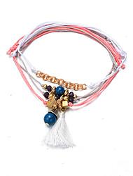 Chaînes & Bracelets / Charmes pour Bracelets / Bracelets de rive / Bracelets Wrap / Loom Bracelet 1pc,Argent Bracelet A la ModeAlliage /