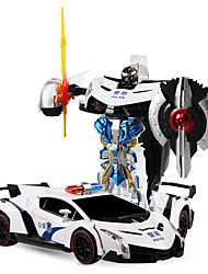 White Robot Radio Control English