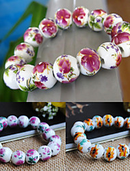 Women's China Ceramic Style Strand Bracelet